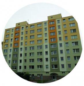 Rekonstrukce elektro panelových domů.