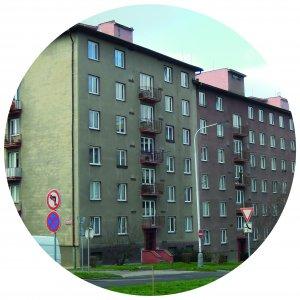 Nová elektroinstalace bytových domů v Praze 9